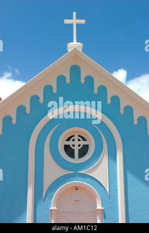 Catedral San Fernando de Maldonado 1895 Punta del Este Uruguay - Stock Image