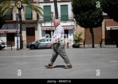 A large Spanish man. - Stock Image