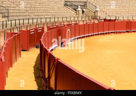 Seville Bullring, Seville, Andalucia, Spain, Europe. - Stock Image