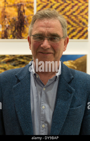 Chairman Brian Wilson of Harris Tweed attends launch of Fashion Sharing Progress program at GCU New York - Stock Image