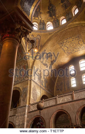 Patriarchal Cathedral Basilica of Saint Mark, Venice, Italy - Stock Image
