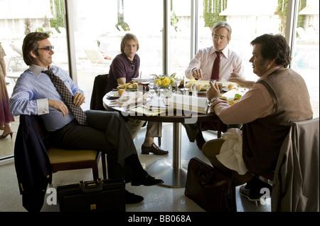 Frost - Nixon  Year : 2008 Director : Ron Howard Michael Sheen, Sam Rockwell, Matthew Macfadyen, Oliver Platt - Stock Image