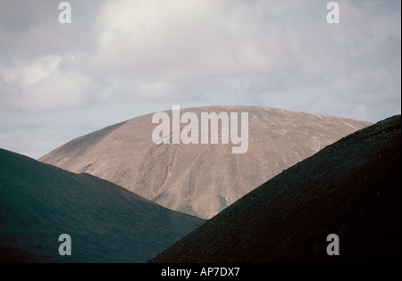 Mountain Landscape, Lanzarote, Canary Islands - Stock Image