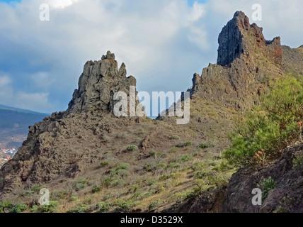 Masca Mountains of Tenerife - Stock Image