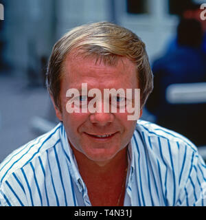 Graham Bonney, britischer Entertainer und Schlagersänger, Deutschland 1993. British schlager singer and entertainer Graham Bonney, Germany 1993. - Stock Image