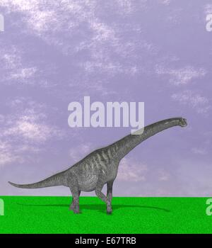Dinosaurier Sauroposeidon / dinosaur Sauroposeidon - Stock Image