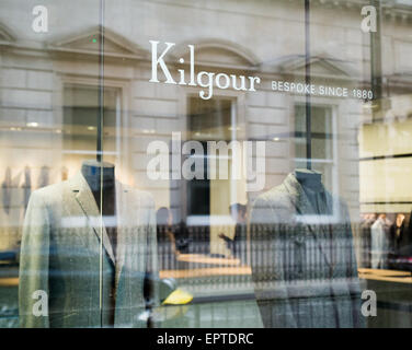 Kilgour in Savile Row London Britain - Stock Image