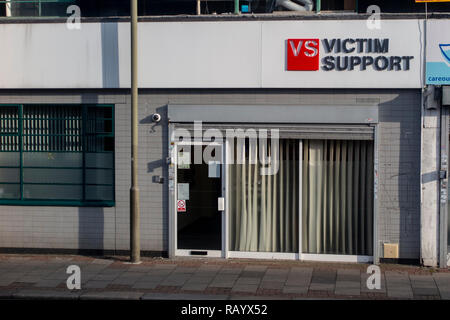 A Victim Support office in South London - Stock Image