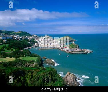 Ilfracombe harbour, Devon, England, UK. - Stock Image