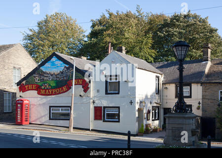 The Maypole Inn, Warley, West Yorkshire - Stock Image