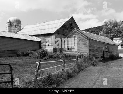 Farm buildings Monkton, Vermont, USA - Stock Image