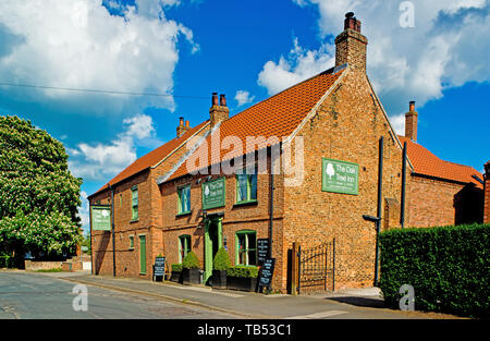 The Oak Tree Inn, Brafferton, North Yorkshire, England - Stock Image