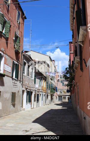 Venetian Alley - Stock Image