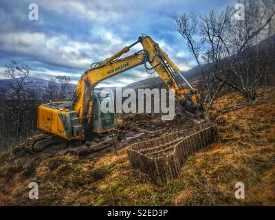 Dragline - Stock Image