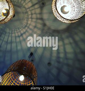 Lamps and shadows - Stock Image
