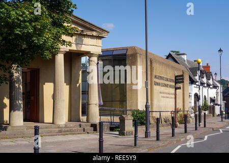 National Roman Legionary Museum Caerleon Newport Gwent Wales - Stock Image