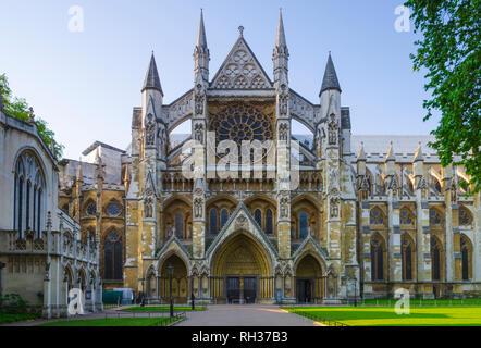 UK, England, London, Westminster Abbey, Great North Door - Stock Image