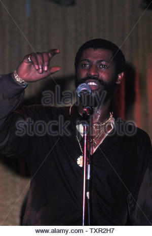 Teddy Pendergrass 1978. Credit: 4252624Globe Photos/MediaPunch - Stock Image