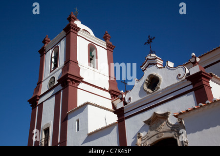 Portugal, Algarve, Silves, Cathedral Tower - Stock Image