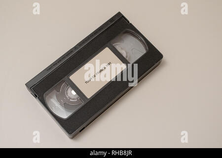 VHS tape of the 1991 Tour de France - Stock Image