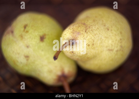 Bartlett pears, selective focus - Stock Image