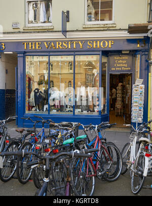varsity shop oxford - Stock Image