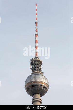 Germany, Berlin. Top of Berlin TV Tower. Credit as: Wendy Kaveney / Jaynes Gallery / DanitaDelimont.com - Stock Image
