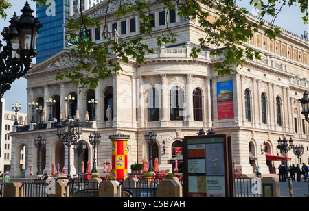 Frankfurt Opera Alte Oper Old Opera House Frankfurt - Stock Image