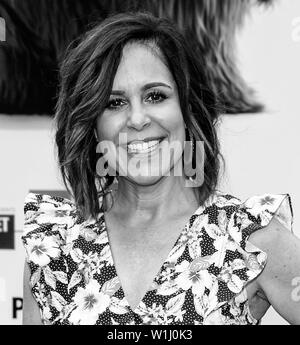 Los Angeles, CA - June 02, 2019: Laura Niemi attends the Premiere Of Universal Pictures' 'The Secret Life Of Pets 2' held at Regency Village Theatre - Stock Image