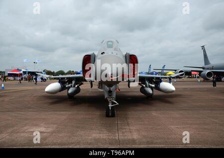 McDonnell Douglas F-4 Phantom II Fighter-bomber - Stock Image