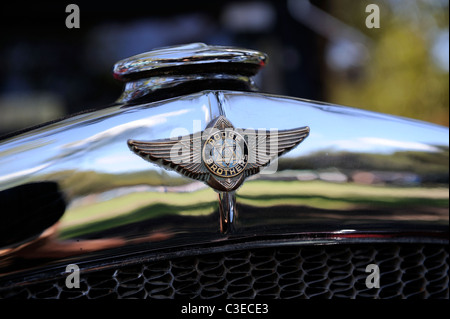 Vintage Dodge Brothers motor car badge. - Stock Image