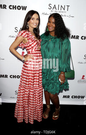 June 12, 2019 - Beverly Hills, CA, USA - LOS ANGELES - JUN 4:  Ira DeWitt, Tamara Raymond at the SAINT Modern Prayer Candles For A Cause Launch at the Mr. Chow on June 4, 2019 in Beverly Hills, CA (Credit Image: © Kay Blake/ZUMA Wire) - Stock Image