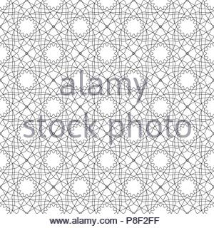 Simular texture with linear geometric ornaments. - Stock Image