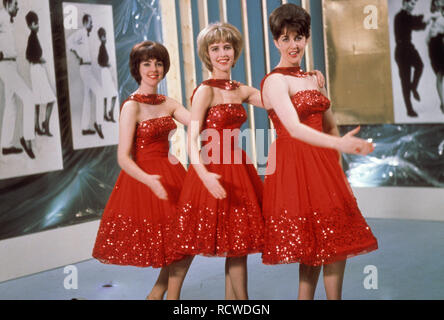 THE VERNONS GIRLS  UK vocal group of varying lineups. This lineup about 1962 - Stock Image