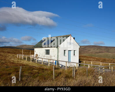 Shap Fell Bothy Camping Barn. Shap Summit, A6, Shap, Cumbria, England, United Kingdom, Europe. - Stock Image