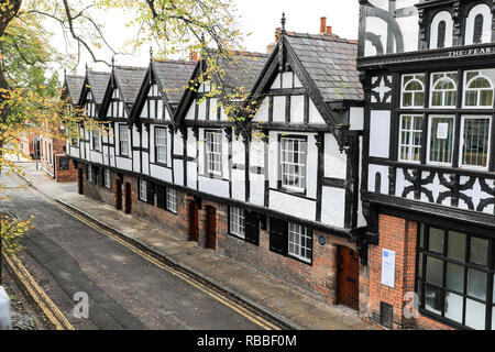 Chester, the County town of Cheshire, England, UK - Stock Image