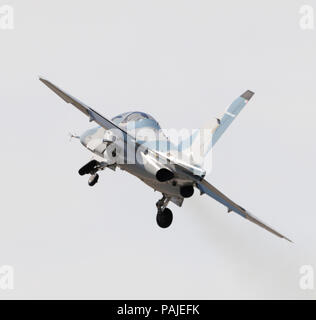 in the flying-display at the Farnborough Airshow 2010 - Stock Image