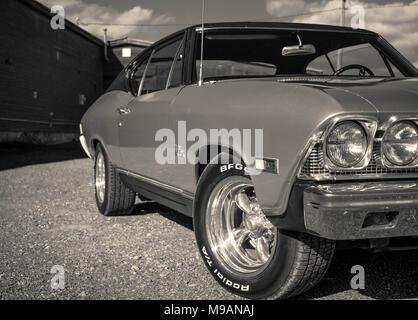 68 Chevelle Malibu - Stock Image
