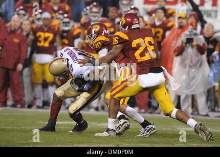 Dec. 26, 2009 - San Francisco, California, U.S - 26 December 2009: Boston College SO WR Colin Larmond, Jr. (10) - Stock Image