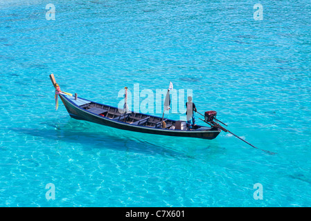 Long boat Thailand - Stock Image