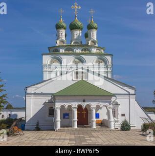 Epiphany monastery church (1687), Mstera, Vladimir region, Russia - Stock Image