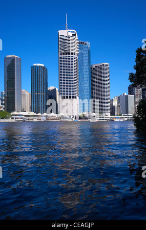 Brisbane central business district - Stock Image