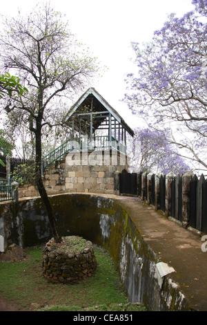 A Part of the Queen's Palace Complex, Antananarivo, Madagascar. Rova of Antananarivo. - Stock Image