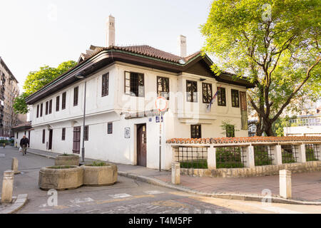 The Museum of Vuk and Dositej is one of the oldest preserved buildings in Belgrade, and dates from the 18th century. - Stock Image
