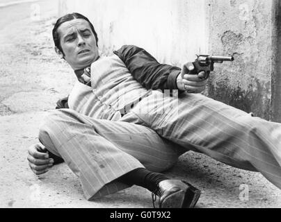 Alain Delon / Borsalino / 1970 directed by Jacques Deray (Adel Productions / Paramount Pictures) - Stock Image