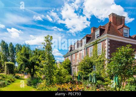 The Salutation,House,Gardens,Sandwich,Kent,England,UK - Stock Image