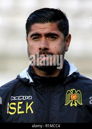 Chile League - Scotiabank 1 Division 2018 /  ( Union Espanola ) -  Diego Ignacio Sanchez - Stock Image