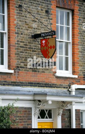 Provosts Lodging, Cardinal's Wharf, South Bank, London, UK - Stock Image