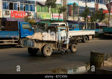 changhai suburb city china - Stock Image