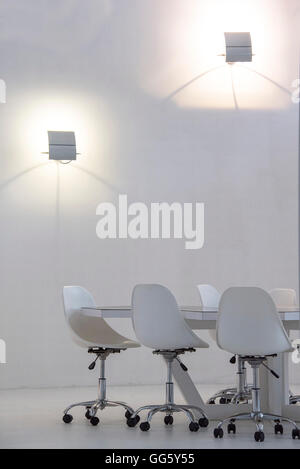 Interior of empty conference room - Stock Image